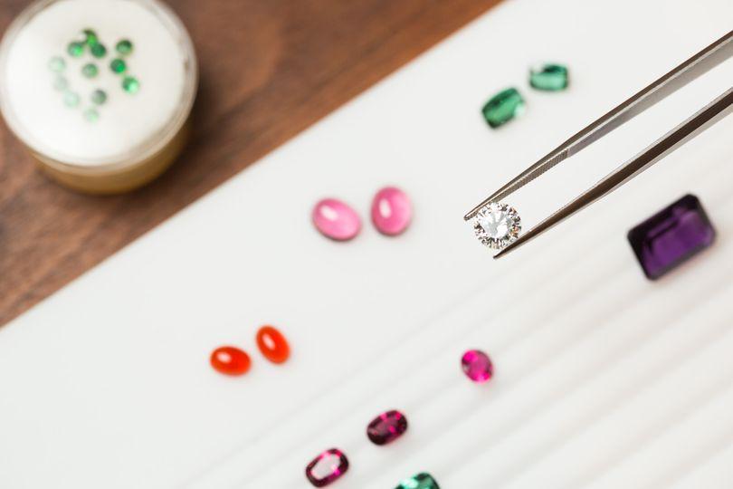 Custom design & stone sourcing