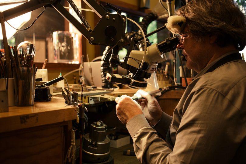 Master goldsmiths in-store