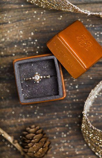 Rings full of sparkle & shine