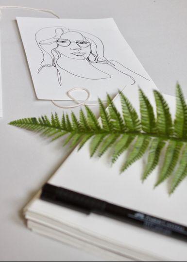 Drawing of Shay