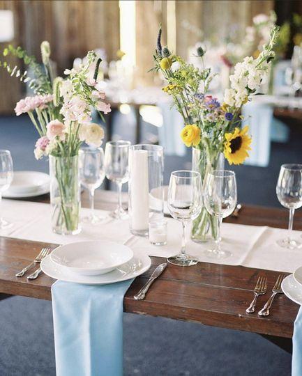 Small wedding decor