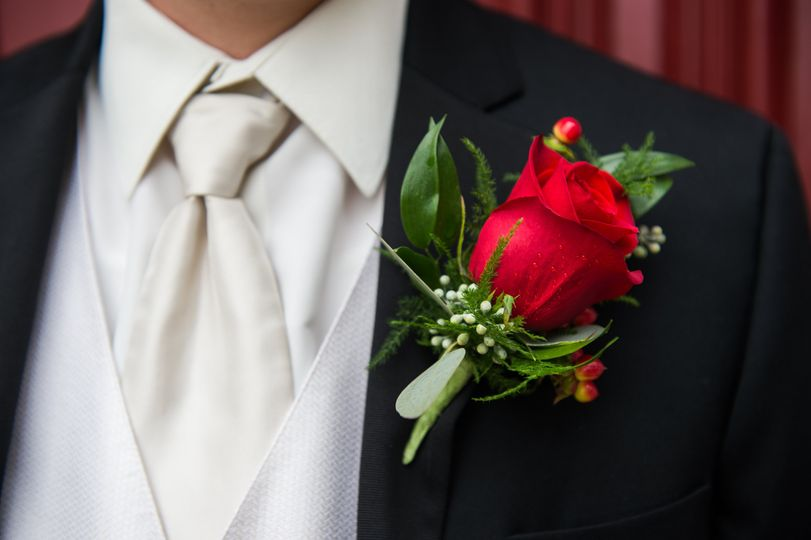 Boutonniere by Ross
