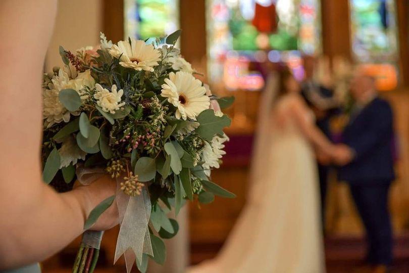 Bridesmaids Bouquet by Ross