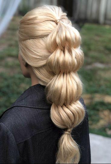 Textured modern hairstyle