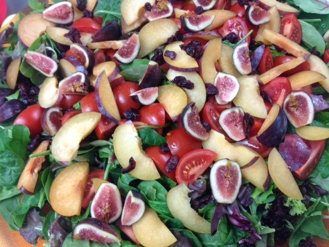 Tmx 1499266730993 Salad With Peaches And Figs Groton wedding catering