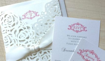 French Kiss Wedding Invitations