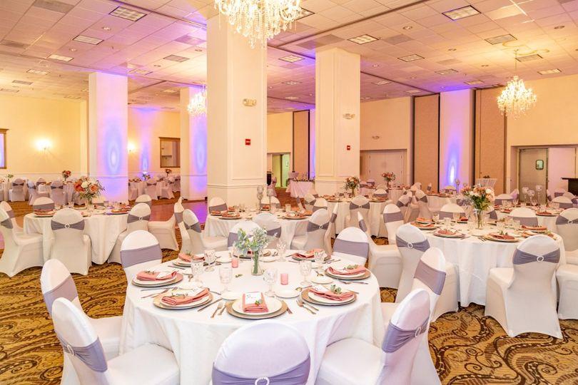 Boundary Ballroom Tablescapes