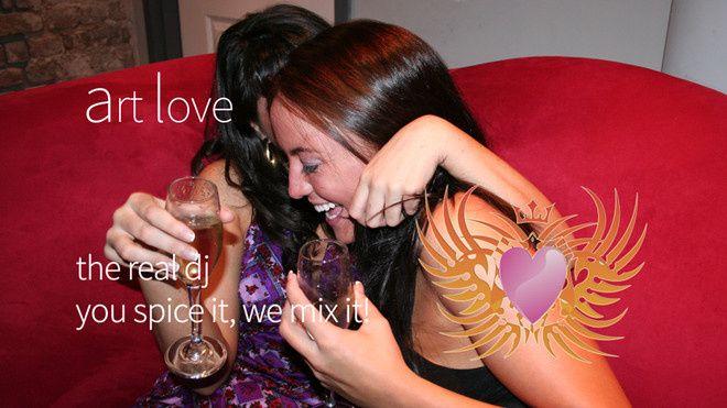 "dj Art Love ""Weddings & memories!"""