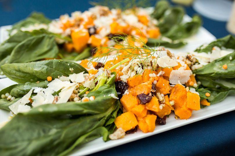 Butternut Squash SaladP.C. Rebecca Rizzo Photographics