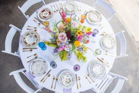 Ruth and Rose Mismatched Vintage China Rental