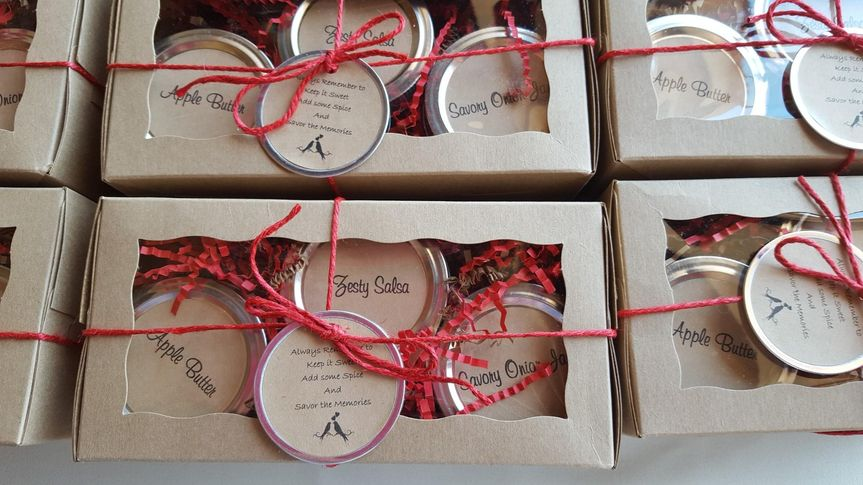Hand made favors