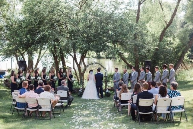 Tmx Ceremony In The Backyard 51 354817 158696543081357 Clive, IA wedding planner