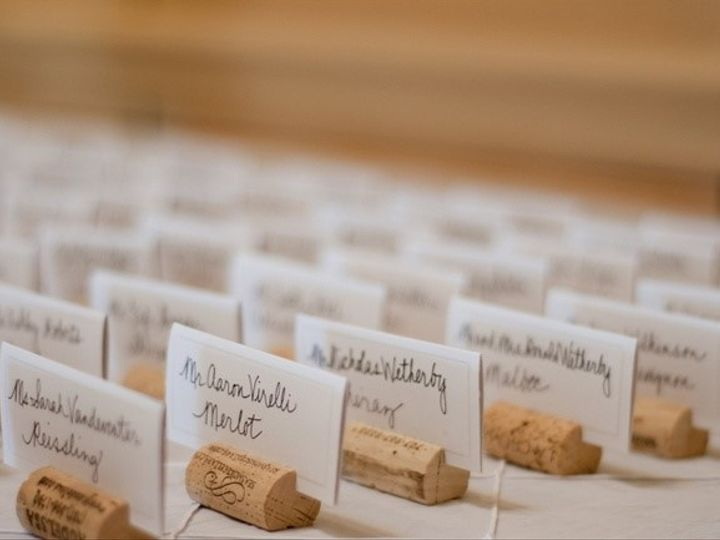 Tmx Cork Place Cards 51 354817 V2 Clive, IA wedding planner