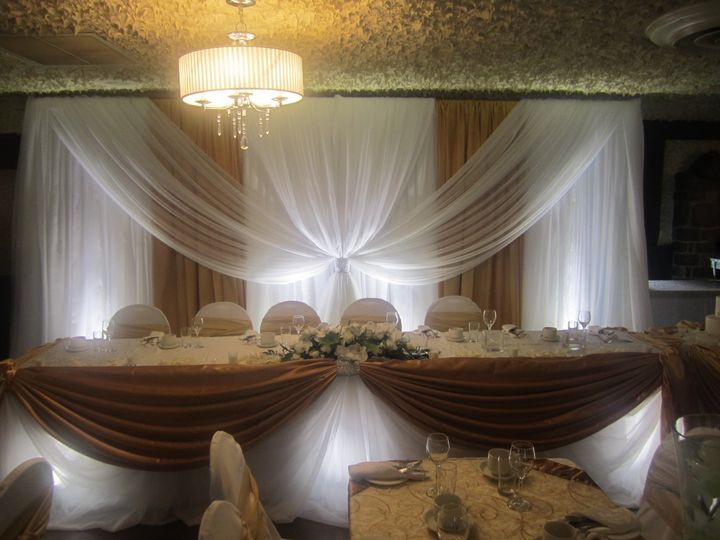 Tmx Head Table Draping 51 354817 V1 Clive, IA wedding planner