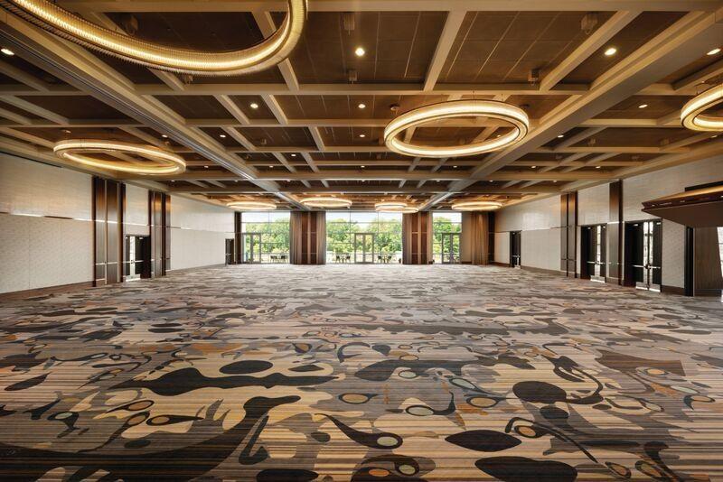 Bare banquet hall