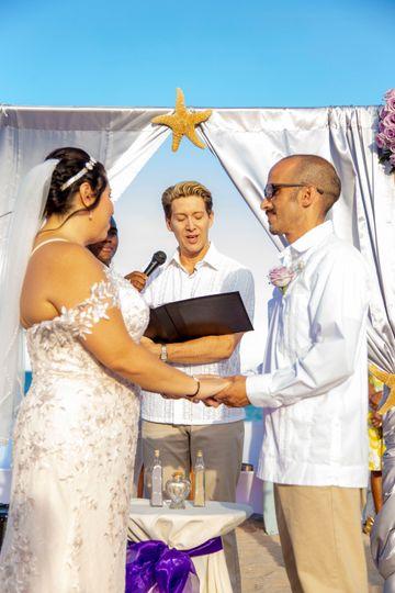 Beach Wedding (Steph/Carlos)