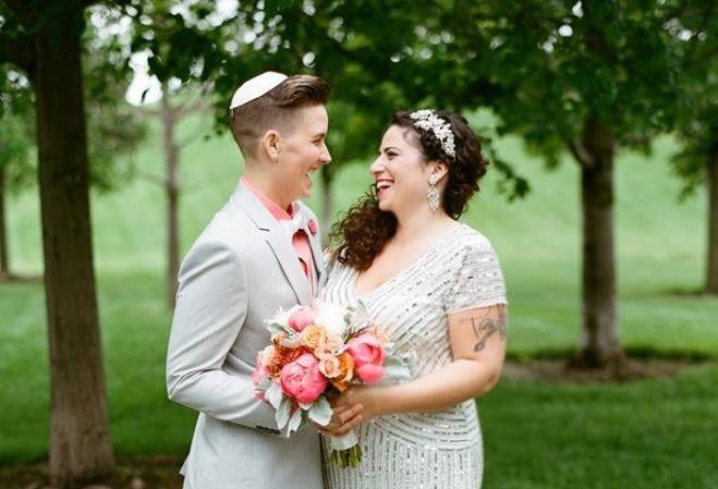 LGBTQ Jewish Christian Wedding