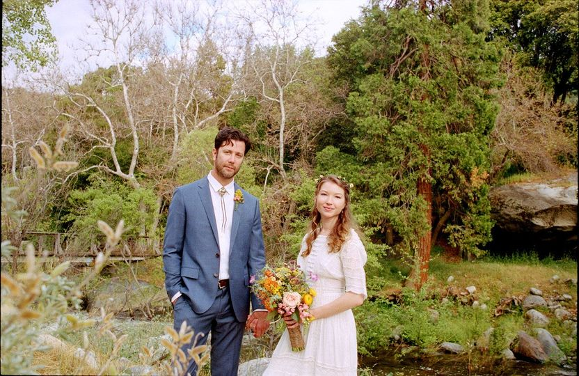 wedding ceremony redwoodranchthreerivers ranchwedd