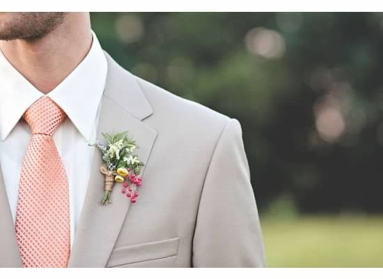 Groom's boutonniere | Cait Rose Photography