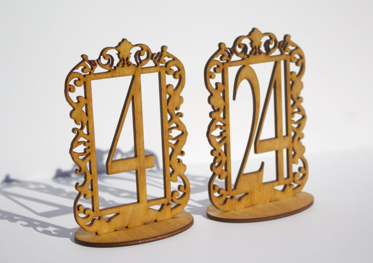 table numbers photo