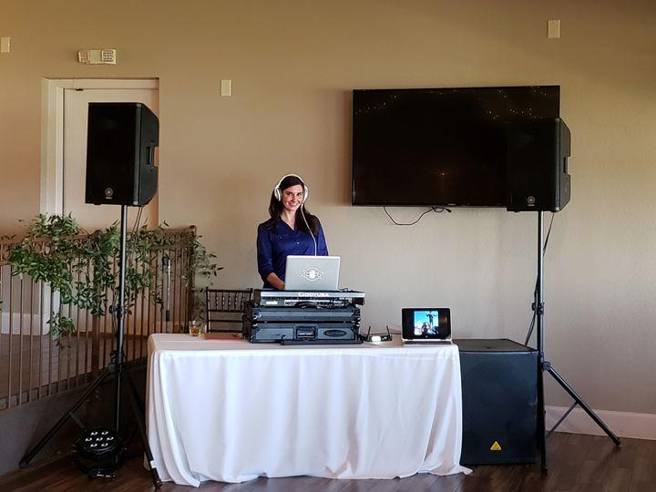 DJ Moxie at work
