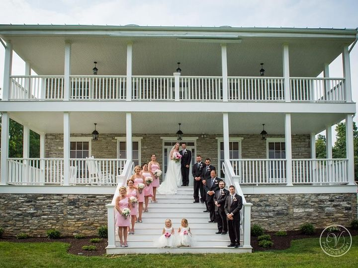 Tmx 1436315840735 Bridal Party On Steps Middletown, PA wedding venue