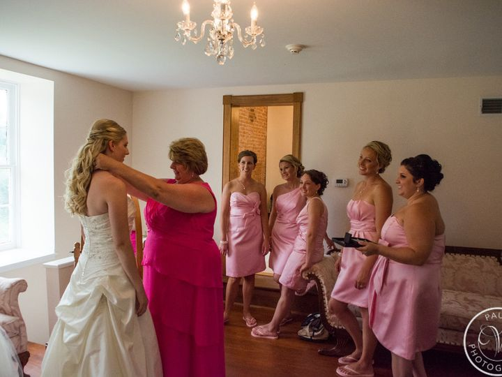 Tmx 1436316030629 Me Putting Necklace On Elyse Middletown, PA wedding venue