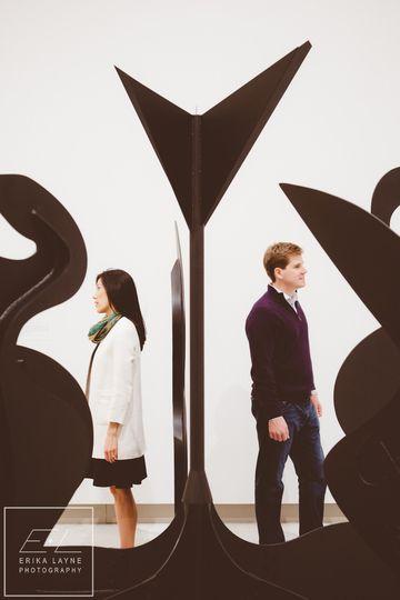 washington dc art museum engagement photography 25
