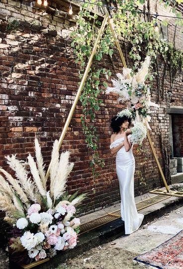 Bijou Floral Arch