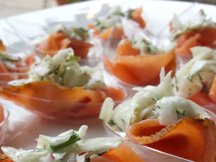 Tmx Copy Of Smoked Salmon With Fennel Slaw 51 911917 157607413571389 Houston, TX wedding catering