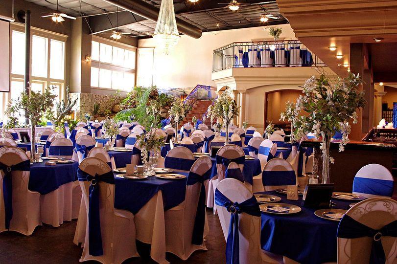 Wedding reception decoration a