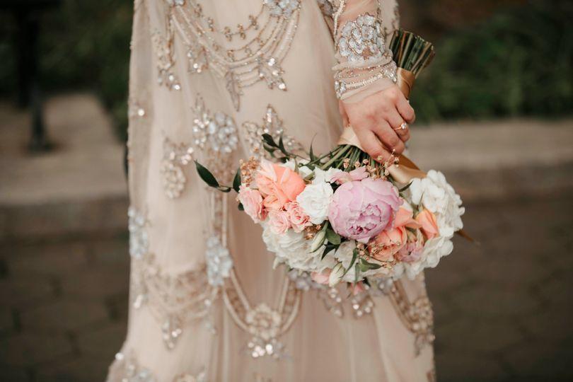 Grace's stunning bouquet