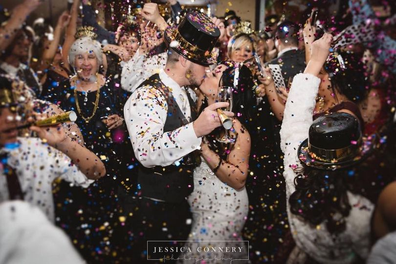 Reception confetti
