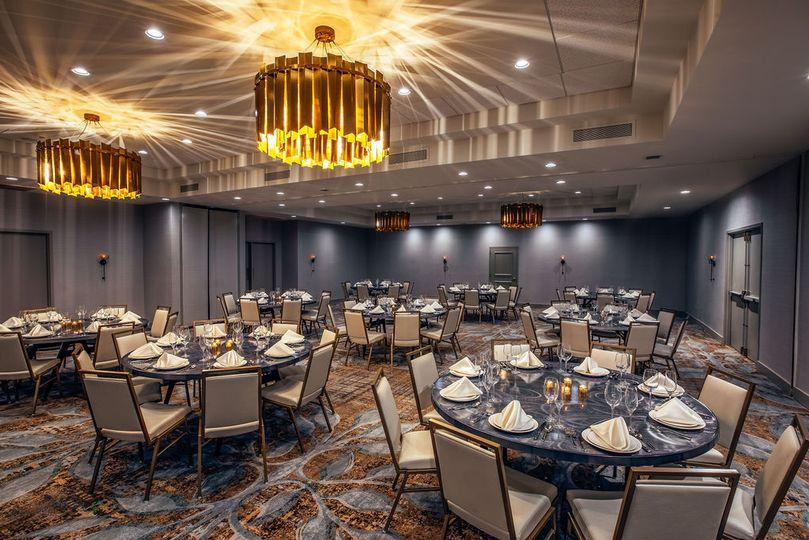 Dinner in the lafayette ballroom