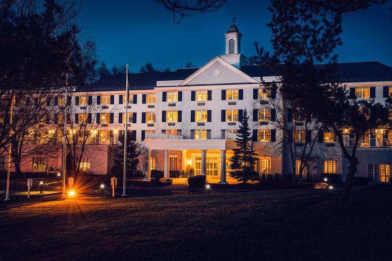Somerset hills hotel nighttime
