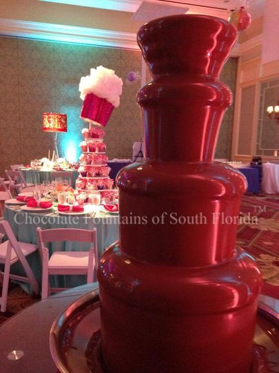 candyland chocolate fountain