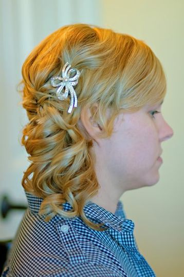 Lovely hair design