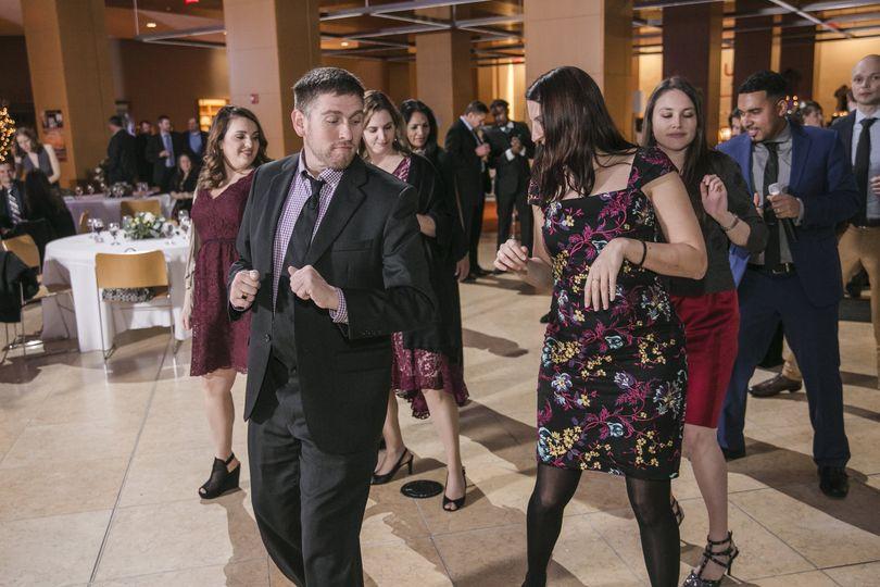 Rocking the reception