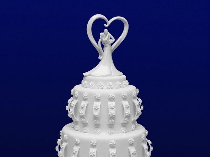 Tmx 1389715425309 Whiteweddingresiz Piscataway wedding cake