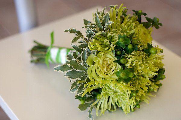 Yellow green bouquet