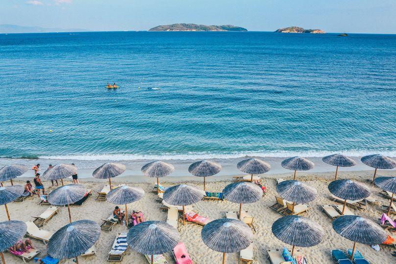 Greece beach getaway