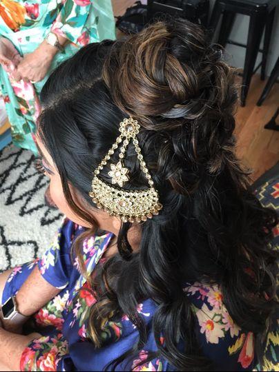 Indian hair piece