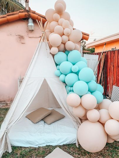 Tent Balloon Garland
