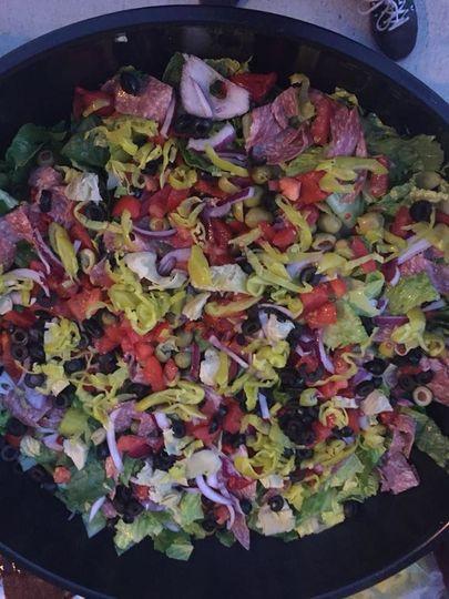 Vegetable sald