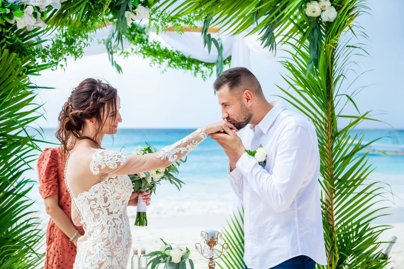 Wedding on Island Saona