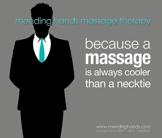 massage better than necktie