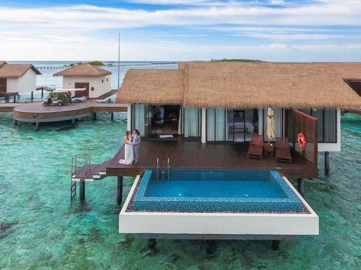 Tmx Canva Couple Standing At Maldives Cottage 51 1837917 157964307360375 Vincentown, NJ wedding travel