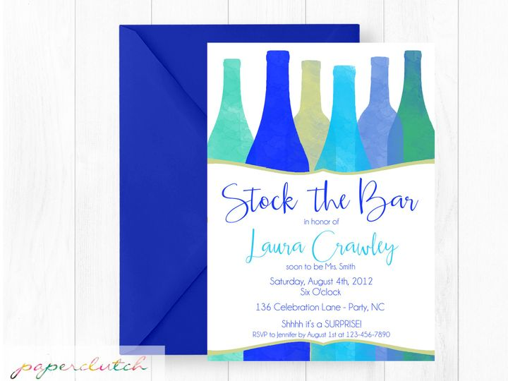 Tmx 1483541395892 Stockthebar Thomasville wedding invitation