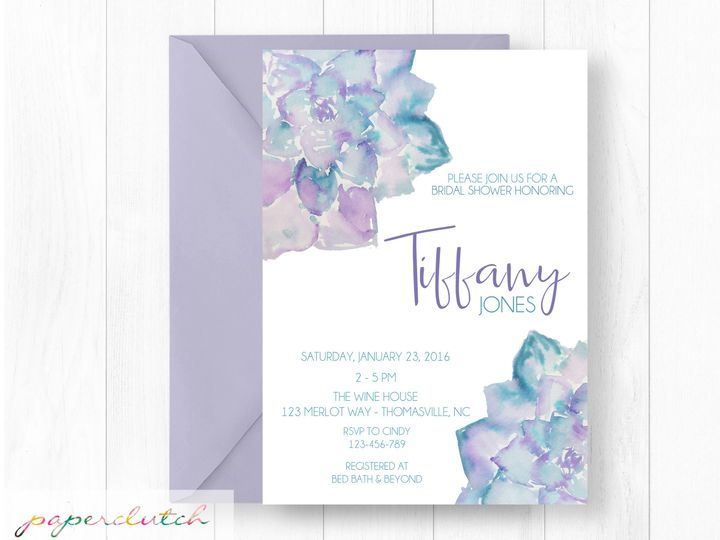 Tmx 1483541412204 Succlantmockup Thomasville wedding invitation