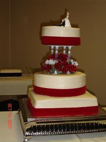 Tmx 1200928946191 CornelisonWedding%28Small%29 Harrisonville wedding cake